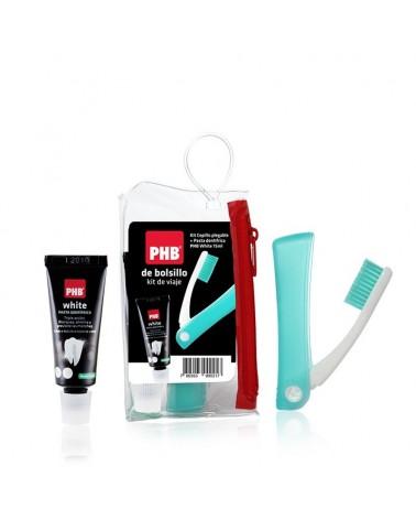Kit de viaje PHB® cepillo + mini pasta 15ml